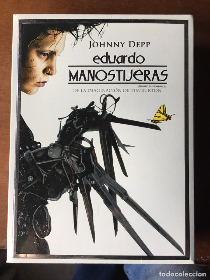 PACK EDUARDO MANOSTIJERAS DE TIM BURTON, CON JOHNNY DEPP Y WINONA RYDER.EDICIÓN PARA COLECCIONISTAS. (Cine - Películas - DVD)