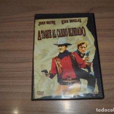 Cine: ATAQUE AL CARRO BLINDADO DVD JOHN WAYNE KIRK DOUGLAS NUEVA PRECINTADA. Lote 295744973