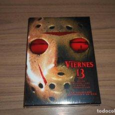Cine: VIERNES 13 LA COLECCION DEFINITIVA 8 DVD VIERNES 13 PARTES DE 1 A 8 NUEVA PRECINTADA. Lote 237101545