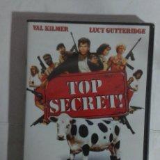 Cinéma: TOP SECRET- VAL KILMER- DVD NUEVO PRECINTADO. Lote 226906782