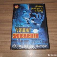 Cine: FONDA SANGRIENTA DVD TERROR NUEVA PRECINTADA. Lote 289890743