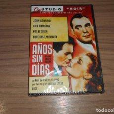 Cine: AÑOS SIN DIAS EDICION ESPECIAL DVD + LIBRO JOHN GARFIELD ANN SHERIDAN PAT O' BRIEN NUEVA PRECINTA. Lote 226998260