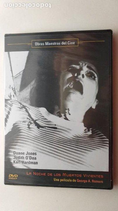 DVD: LA NOCHE DE LOS MUERTOS VIVIENTES. OBRAS MAESTRAS DEL CINE. NUEVO Y PRECINTADO (Cine - Películas - DVD)