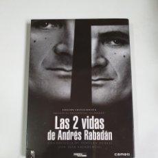 Cine: LAS DOS VIDAS DE ANDRÉS RABADÁN, EDICIÓN COLECCIONISTA, 2 DISCOS, INCLUYE EL DOCUMENTAL EL PERDÓN.. Lote 227192505