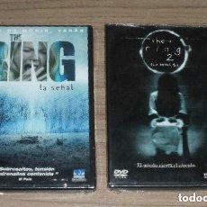Cine: THE RING 1 Y 2 DVDS PRECINTADOS. Lote 227555199
