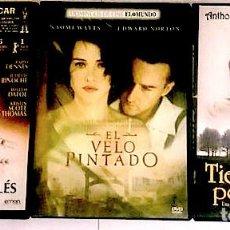 Cinema: EL PACIENTE INGLÉS + EL VELO PINTADO + TIERRAS DE PENUMBRA. Lote 227720360