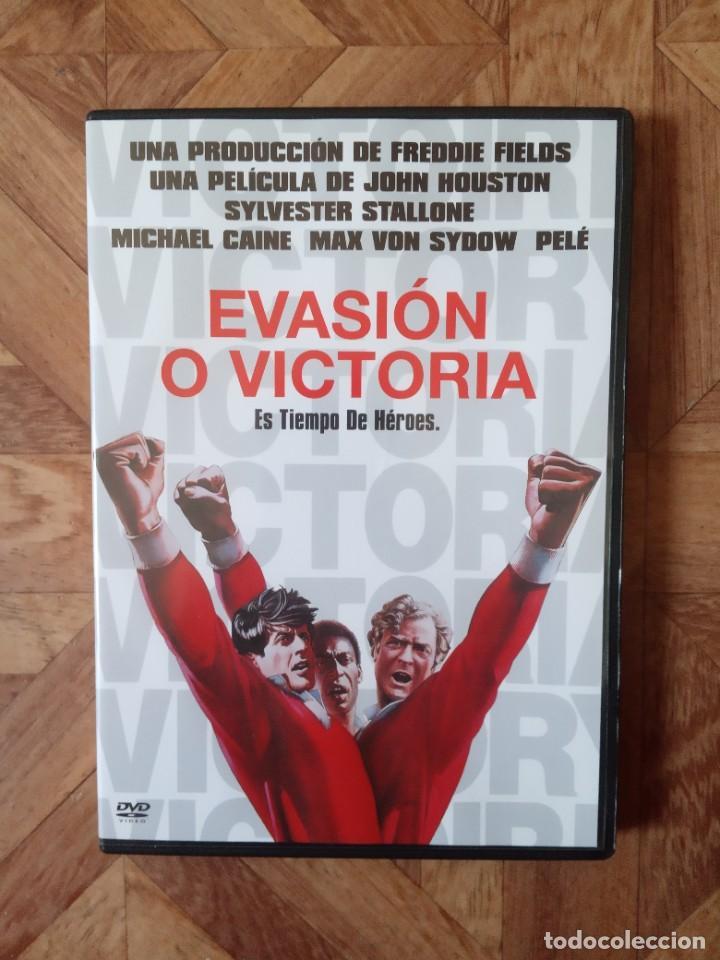 EVASIÓN O VICTORIA - DIR. JOHN HOUSTON - CON PELÉ MICHAEL CAINE S. STALLONE MAX VON SYDOW (Cine - Películas - DVD)