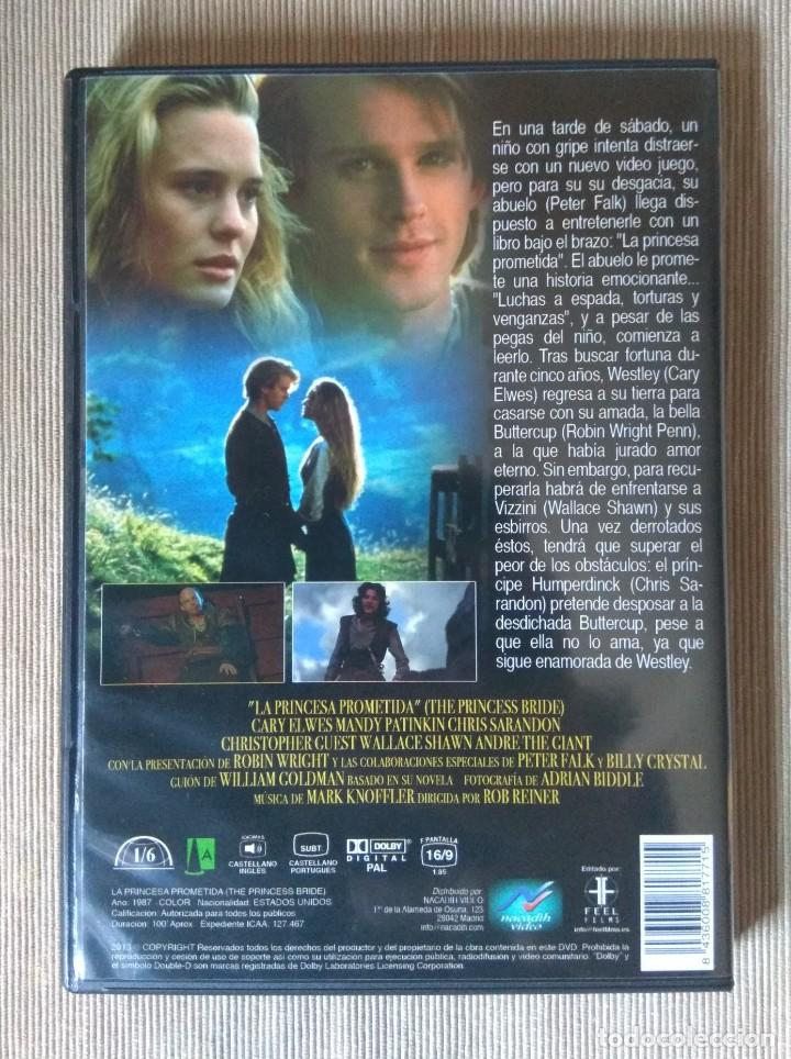 Cine: Envio incluido // DVD La princesa prometida - Foto 2 - 227956595
