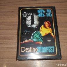 Cine: DESTINO BUDAPEST DVD DANA ANDREWS GEORGE SANDERS NUEVA PRECINTADA. Lote 269216483