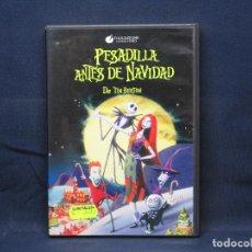 Cine: PESADILLA ANTES DE NAVIDAD - DVD. Lote 227978255