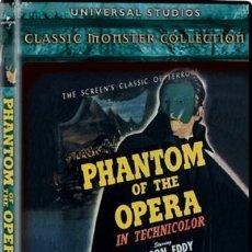 Cine: PHANTOM OF THE OPERA / UNIVERSAL / CLAUDE RAINS NELSON EDDY - FANTASMA - PRECINTADO. Lote 228007425