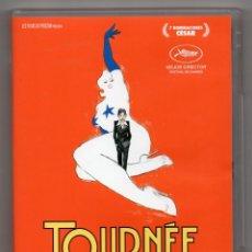Cine: TOURNÉE. DVD. MATHIEU AMALRIC. Lote 228037440