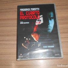 Cine: EL CUARTO PROTOCOLO DVD PIERCE BROSNAN MICHAEL CAINE NUEVA PRECINTADA. Lote 294373778