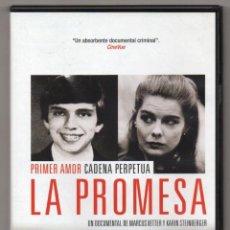 Cine: LA PROMESA. DVD. MARCUS VETTER Y KARIM STEIMBERGER. EL ASESINATO DEL MATRIMONIO HAYSOM. Lote 228293390