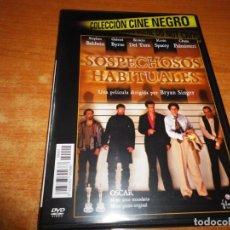 Cine: SOSPECHOSOS HABITUALES DVD DEL AÑO 2011 ESPAÑA CAJA FINA BENICIO DEL TORO GABRIEL BYRNE KEVIN SPACEY. Lote 228782015