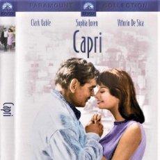 "Cinema: CAPRI. CLARK GABLE Y SOFIA LOREN ""IT STARTED IN NAPLES"" COMEDIA MEDITERRÁNEA ITALIANA ESTÁ EN MURCIA. Lote 202635188"