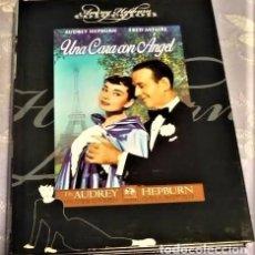 Cine: UNA CARA CON ÁNGEL. DVD + LIBRO. AUDREY HEPBURN FRED ASTAIRE. STANLEY DONEN ESTÁ EN MURCIA. Lote 217063322