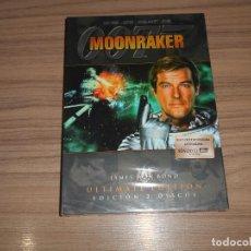 Cine: MOONRAKER 007 JAMES BOND EDICION ESPECIAL 2 DVD ROGER MOORE NUEVA PREICNTADA. Lote 228795990