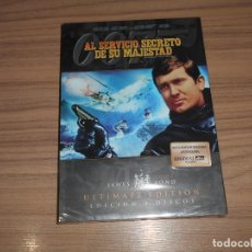 Cine: AL SERVICIO DE SU MAJESTAD 007 JAMES BOND EDICION ESPECIAL 2 DVD NUEVA PRECINTADA. Lote 228796240