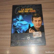 Cine: LA ESPIA QUE ME AMO 007 JAMES BOND EDICION ESPECIAL 2 DVD ROGER MOORE NUEVA PRECINTADA. Lote 228796425