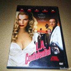 Cine: L.A. CONFIDENTIAL DVD DEL AÑO 2012 ESPAÑA KEVIN SPACEY ROSSELL CROWE KIM BASINGER DANNY DEVITO. Lote 228872925