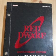 Cine: RED DWARF. ANNIVERSARY EDITION. ALL THE SHOWS (TEN DISC SET). Lote 228956140