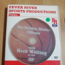 Cine: THE DRIBBLE MOTION OFFENSE (WITH HERB WELLING) BASKETBALL DVD. Lote 228963495
