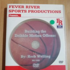 Cine: BUILDING THE DRIBBLE MOTION OFFENSE (BY: HERB WELLING) BASKETBALL DVD. Lote 228964015