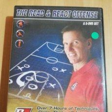 Cine: THE READ & REACT OFFENSE. A 5-DVD SET (BASKETBALL DVD). Lote 228964445