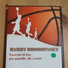 Cine: BARRY BRODZINSKY. ESERCIZI DI TIRO PER GUARDIE, ALI, CENTRI (BASKETBALL DVD). Lote 228964730