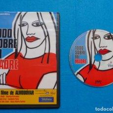 Cine: TODO SOBRE MI MADRE - DVD - CINE- PEDRO ALMODOVAR. Lote 229052265