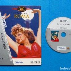 Cine: ROMA - DVD - EL PAIS- FEDERICO FELLINI. Lote 229053275