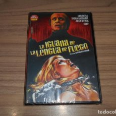 Cine: LA IGUANA DE LA LENGUA DE FUEGO DVD TERROR NUEVA PRECINTADA. Lote 269216968