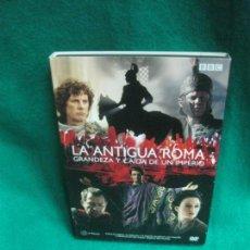Cinema: LA ANTIGUA ROMA. GRANDEZA Y CAIDA DE UN IMPERIO. 2 DVD. BBC.. Lote 229146600