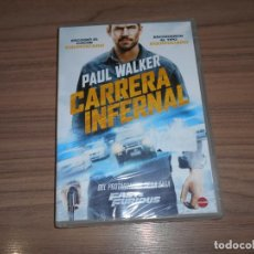 Cine: CARRERA INFERNAL DVD PAUL WALKER NUEVA PRECINTADA. Lote 244994075