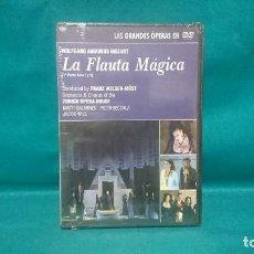 Cinema: DVD PRECINTADO, GRANDES ÓPERAS EN DVD, LA FLAUTA MÁGICA, DOBLE. Lote 229433340