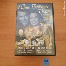 Cine: QUE BELLO ES VIVIR. Lote 229458720
