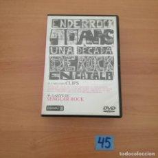 Cine: UNA DECADA DE ROCK. Lote 229460245