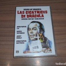 Cine: LAS CICATRICES DE DRACULA DVD CHRISTOPHER LEE NUEVA PRECINTADA. Lote 254080785