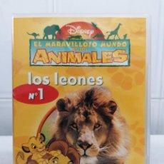 Cine: EL MARAVILLOSO MUNDO DE LOS LEONES - Nº1 - DISNEY DVD. Lote 230401620