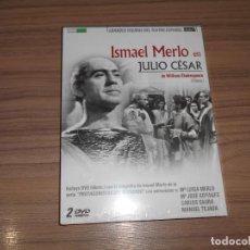 Cine: JULIO CESAR EDICION ESPECIAL 2 DVD DE WILLIAM SHAKESPEARE 112 MIN. + 60 MIN. EXTRAS NUEVA PRECINTADA. Lote 288867598