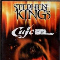 Cine: CUJO DVD - EL PERRO ASESINO (STEPHEN KING) - ESTE PERRO HA SIDO ENTRENADO PARA MATAR.. Lote 230850360
