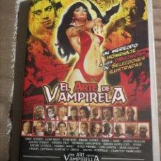 Cine: EL ARTE DE VAMPIRELLA. HOMENAJE A LOS DIBUJANTES DE SELECCIONES ILUSTRADAS. DVD. NUEVO. 70 MIN.. Lote 230903865