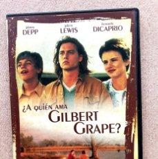 Cine: ¿QUIÉN AMA A GILBERT GRAPE? / JOHNNY DEPP & LEON. DICAPRIO / LASSE HALLSTRÖN / DVD / SLIM, CAJA FINA. Lote 255575420