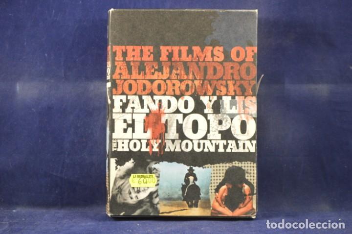 THE FILMS OF ALEJANDRO JODOROWSKY - 6 DVD (Cine - Películas - DVD)