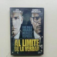 Cine: AL LIMITE DE LA VERDAD. Lote 231339515