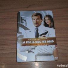 Cine: LA ESPIA QUE ME AMO JAMES BOND 007 EDICION ESPECIAL CAJA METALICA 2 DVD ROGER MOORE. Lote 231363500