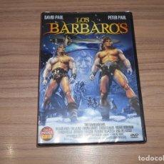 Cine: LOS BARBAROS DVD DAVID PAUL PETER PAUL NUEVA PRECINTADA. Lote 269216743