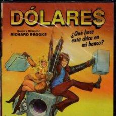 Cinema: DOLARES DVD (GOLDIE HAWN + WARREN BEATTY) EL TRABAJA EN UN BANCO...ELLA LE AYUDA A SAQUEARLO.. Lote 231581150