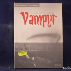 Cine: VAMPYR - 2 DVD. Lote 232274585
